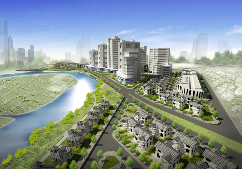 Quy hoach tổng quan dự án Corona City Bình Chánh - Khang Điền HCM