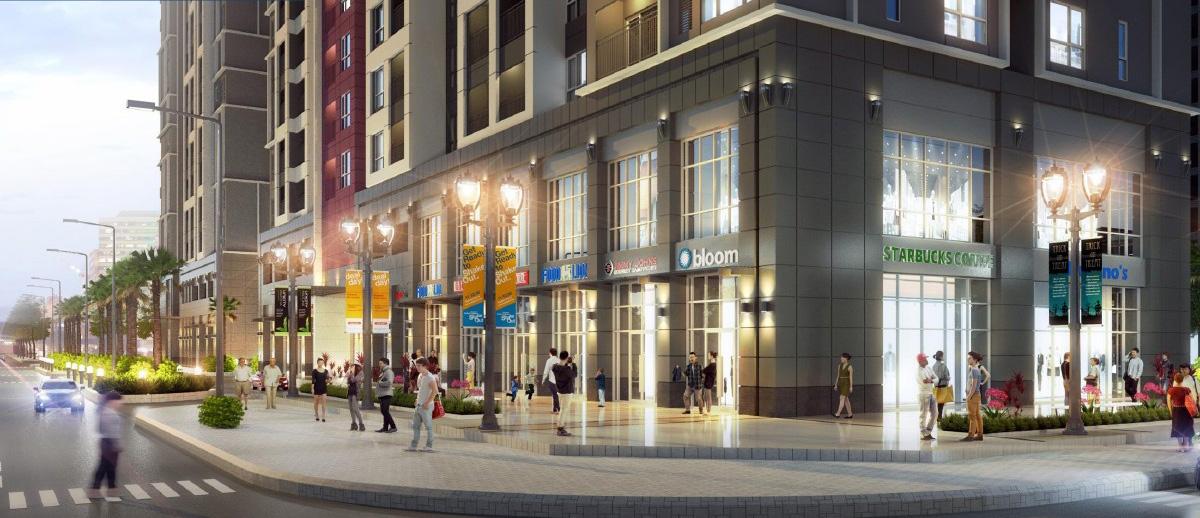 trung tâm thương mại dự án Victoria Village