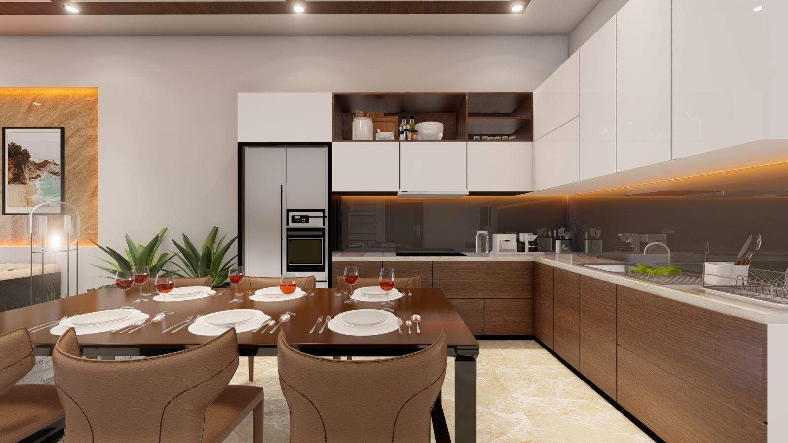 Phòng bếp đúng phong thủy