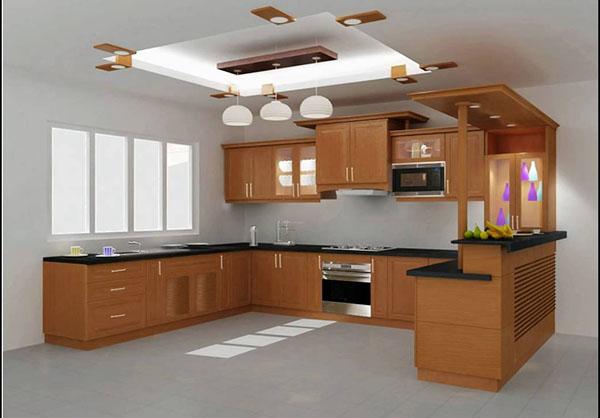 Nhà bếp thiếu ánh sáng