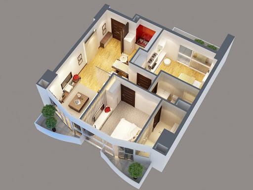 Tính diện tích căn hộ chung cư như thế nào?