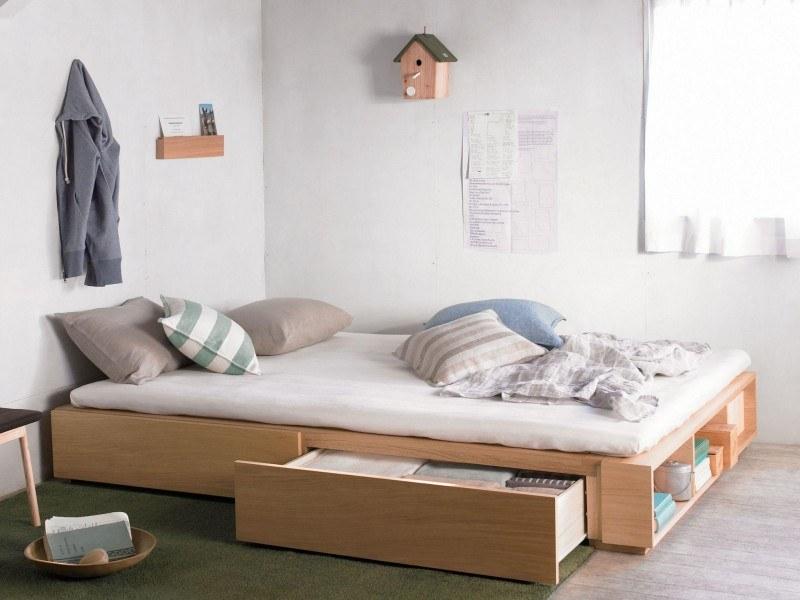 Giường có ngăn kéo là mộtlựa chọntối ưu trong thiết kế nội thất phòng ngủ
