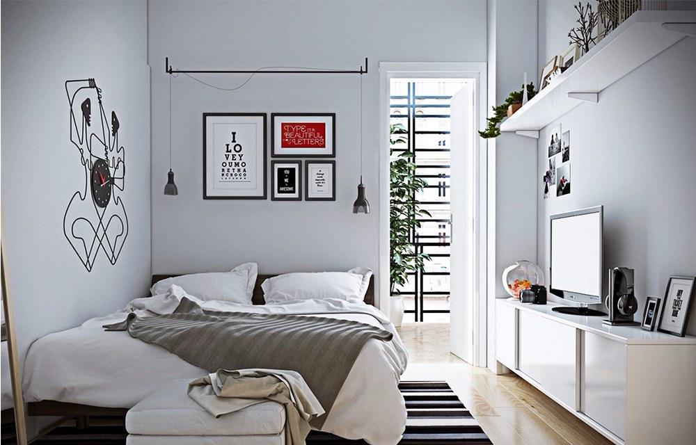 Tạo không gian ấn tượng cho thiết kế nội thất phòng ngủ