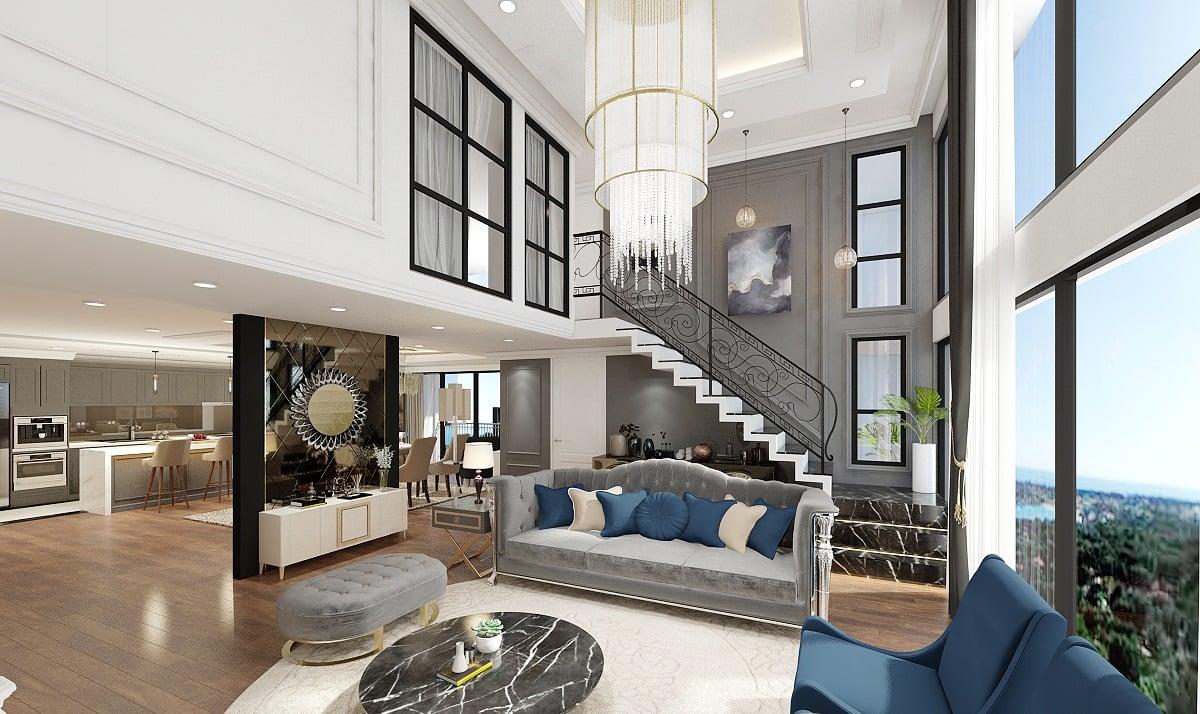 Căn hộ Duplex - Penthouse là gì? So sánh Duplex và Penthouse