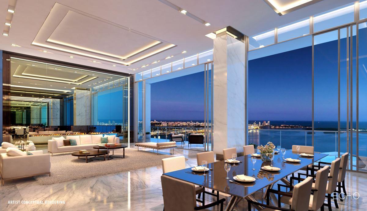 Thiết kế căn hộ penthouse thêm không gian mở