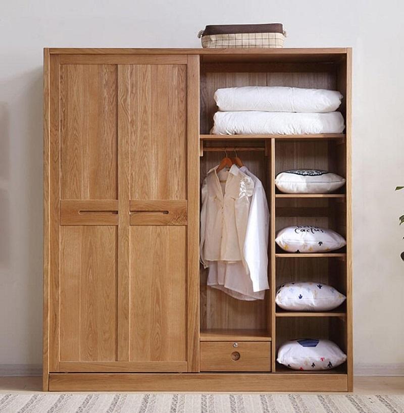 10 Mẫu tủ quần áo gỗ tự nhiên ĐẸP NHẤT 2020 và địa chỉ mua GIÁ RẺ - Đồ Gỗ  Nội Thất