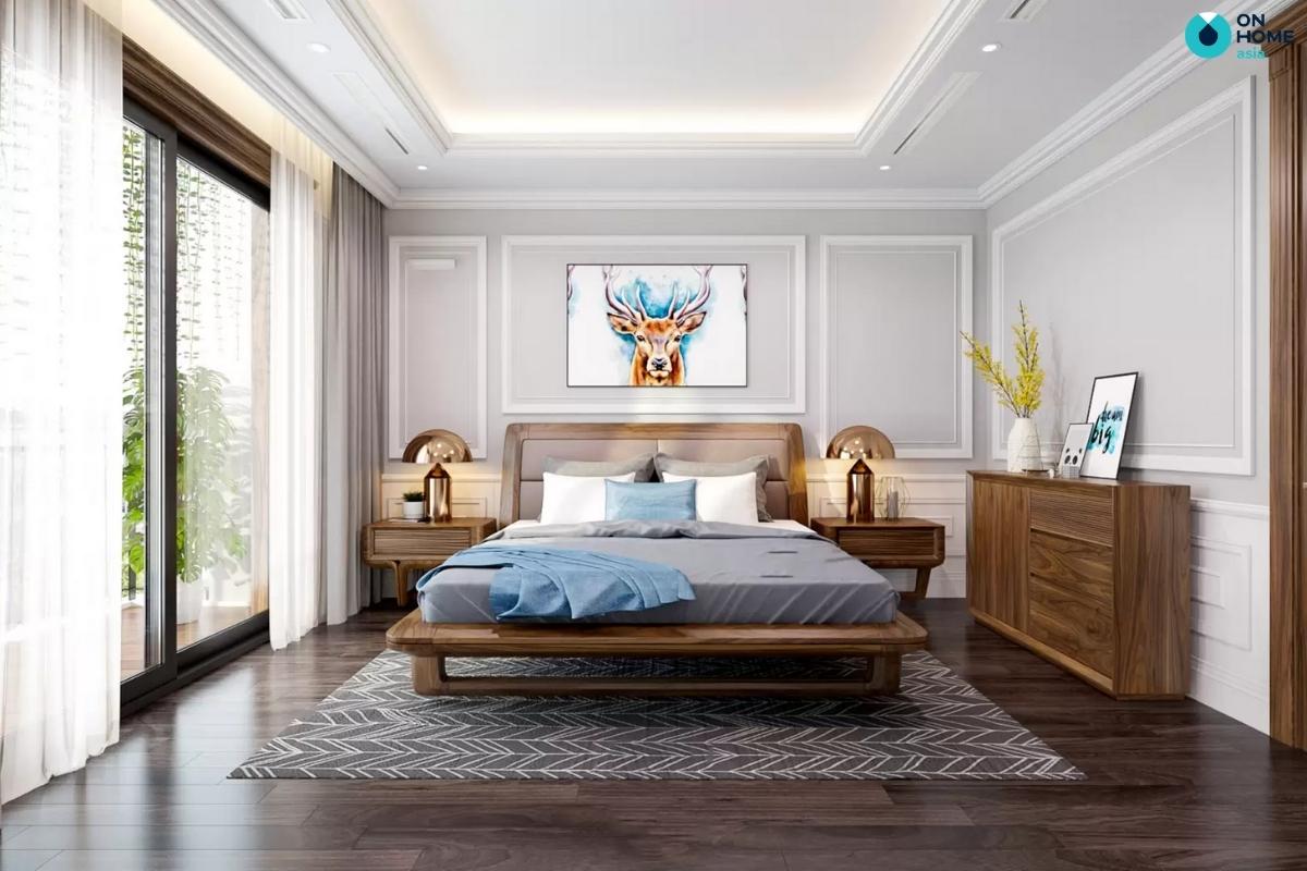 kiểu dáng giường ngủ hợp phong thủy