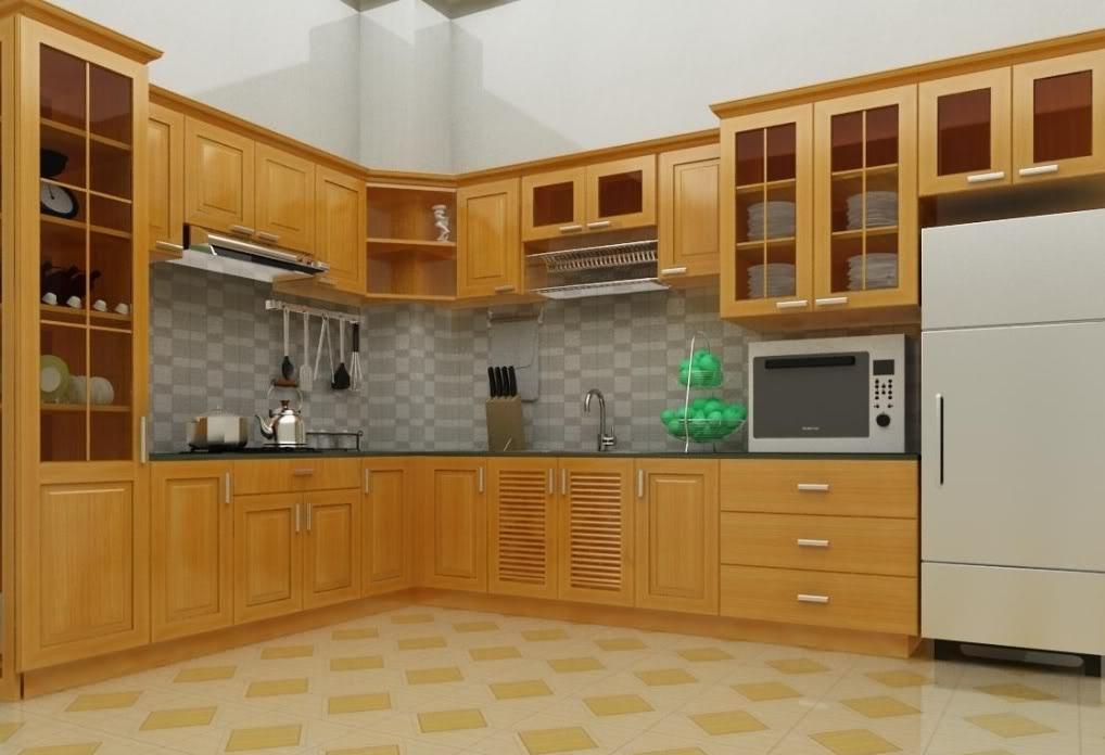 Báo giá tủ bếp đẹp Sài Gòn  Tủ bếp Viet Home Quận 7